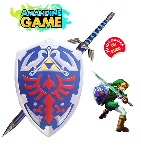 Lot Bouclier de Link + Grande épée  - Réf: Lot 2 Zelda