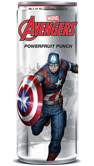 Avengers Powerfruit Punch -Captain America
