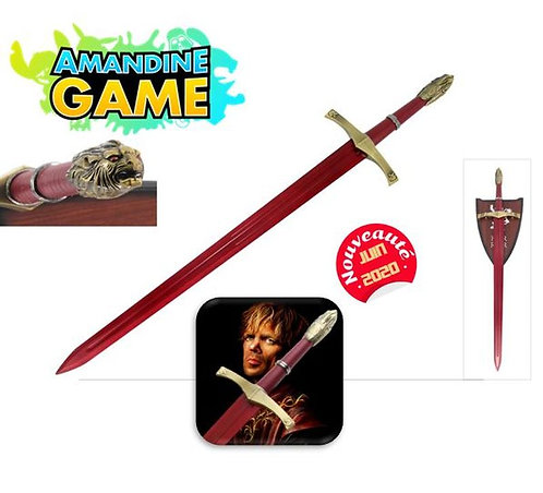 OATHKEEPER RED DAMASCUS - Game of Throne - Réf: FL19983