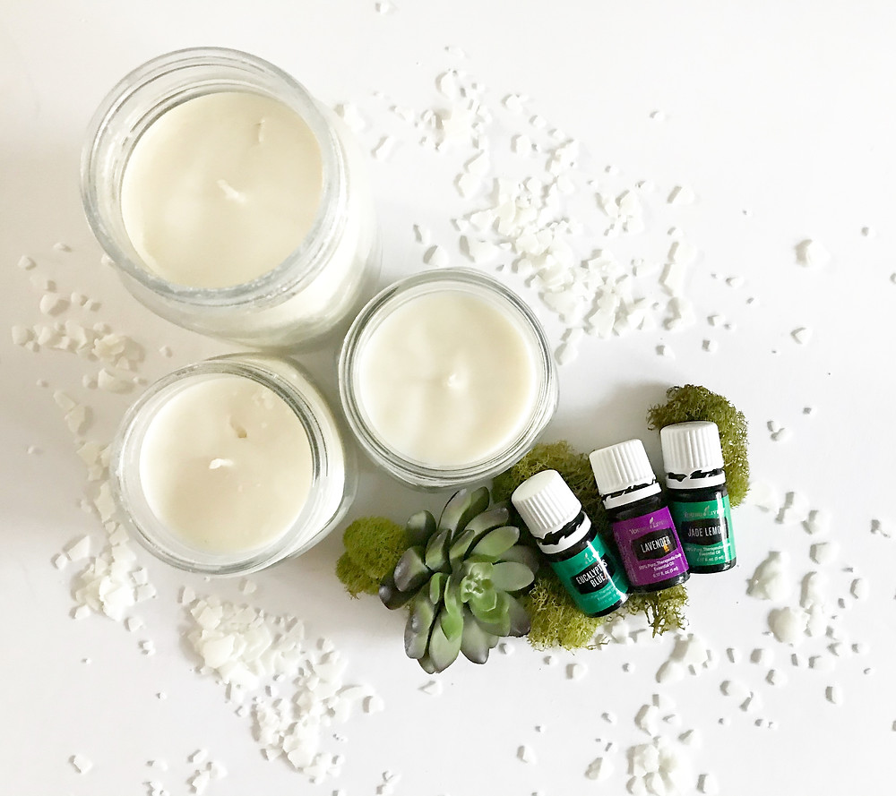 essential oil candles, soy was candle, diy, candle kit, diy candle kit, non toxic candles.