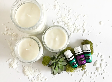 2 Ingredient DIY Candles