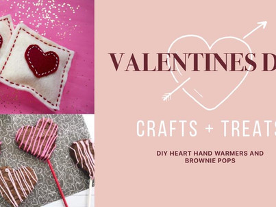 DIY Valentines Crafts and Treats