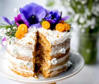 Sarah's Gourmet Vanilla Bean Cake