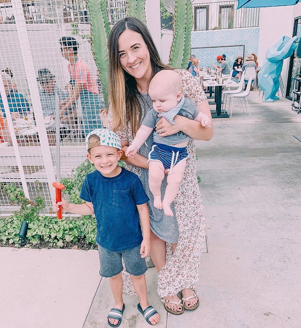 mother, mom and sons, boy mom, boho style, mom blogger