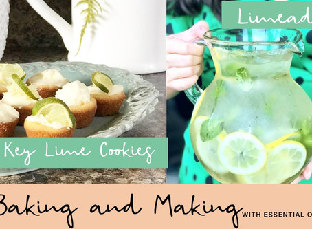 Key Lime Drop Cookies + HomemadeLimade