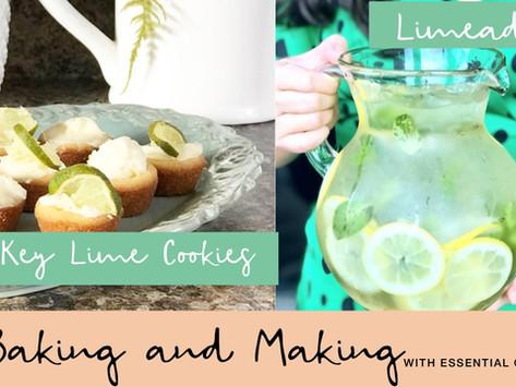 Key Lime Drop Cookies + HomemadeLimade