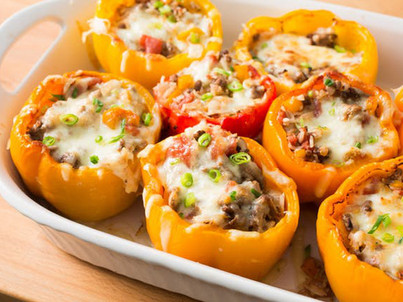 Day 5 Back-to-School Freezer Meal: Super Stuffed Poppin' Peppers
