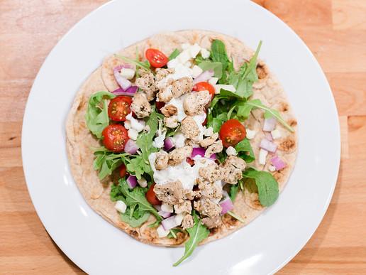 Chicken Souvlaki + Tzatziki Sauce