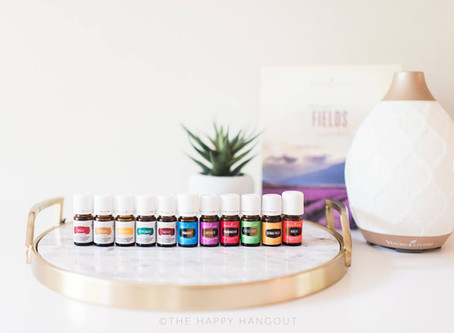 Essential Oils in the Young Living Premium Starter Kit