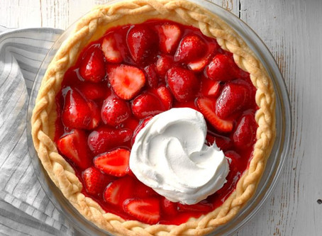 Fresh Picked Strawberry Pie
