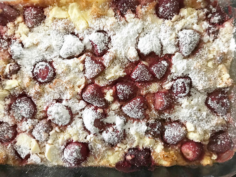 Strawberry Croissant Brunch Bake