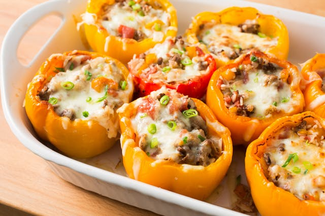 day 5 back to school freezer meal super stuffed poppin peppers