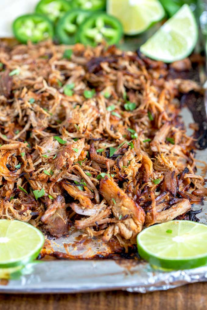 carnitas, carnitas recipe, instant pot carnitas, food, food blog, Mexican dish, Mexican dinners, one pot dinners, pork, entree, instant pot, limes, cilantro, recipe, foodie