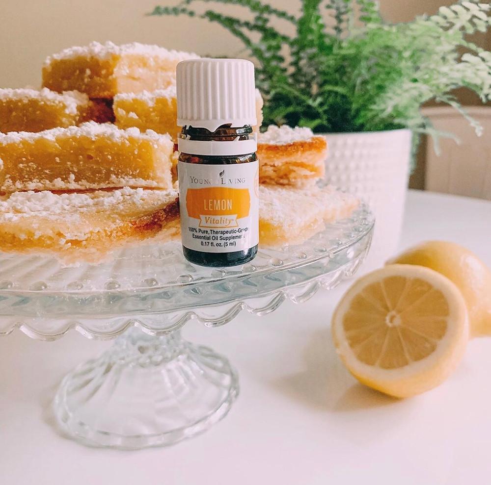 Lemon Vitality Essential Oil Lemon Bar Recipe