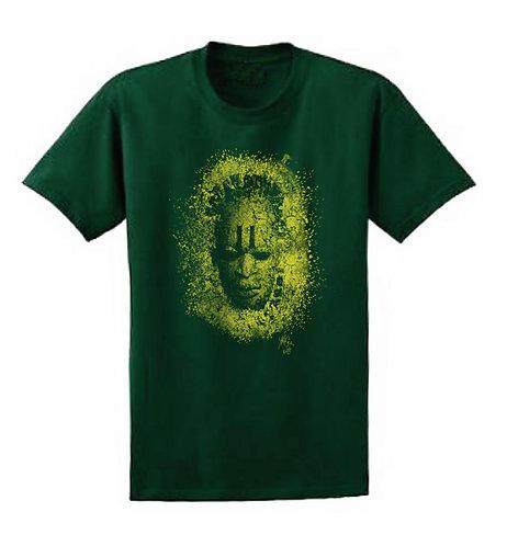 Mask - Green (Unisex Tee)