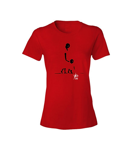 I'll show you (Red Ladies Tee)