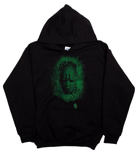 MaskBL -Hoodie -Green