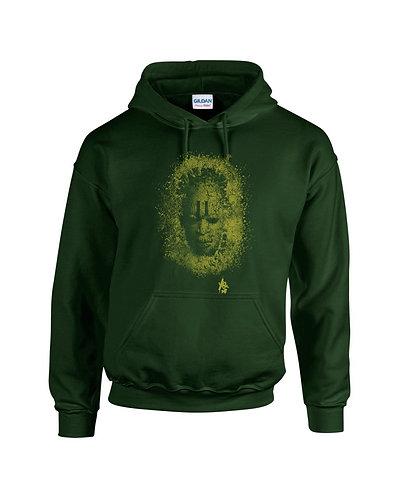 MaskGreen -Hoodie -Olive green
