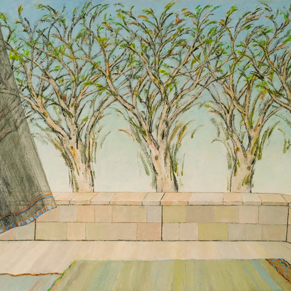 Azadeh Yavari, Miel de l'arbre.jpg