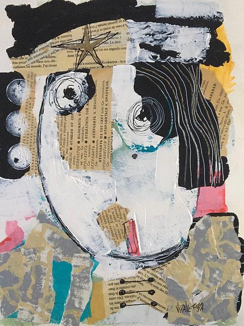 "Vida Verba, portrait ""Confinement"" Marjane"