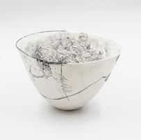 Faezeh Afchary Kord, white bowl .JPG