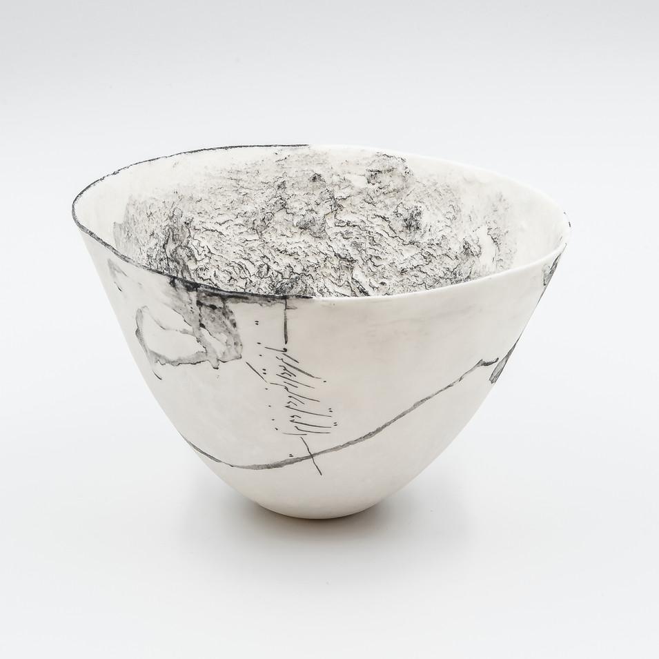 Faezeh Afchary Kord, bol blanc .JPG