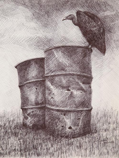 Barils & voutour, Hamid Pourbahrami