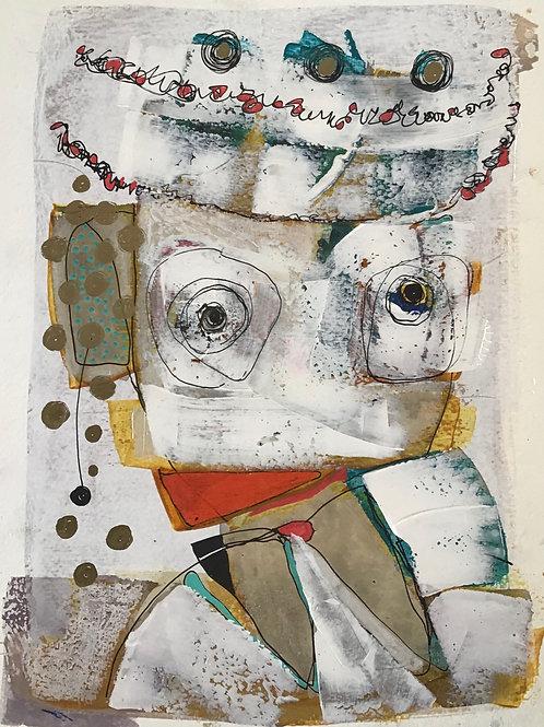 "Vida Verba, portrait ""Confinement"" Dalrak"
