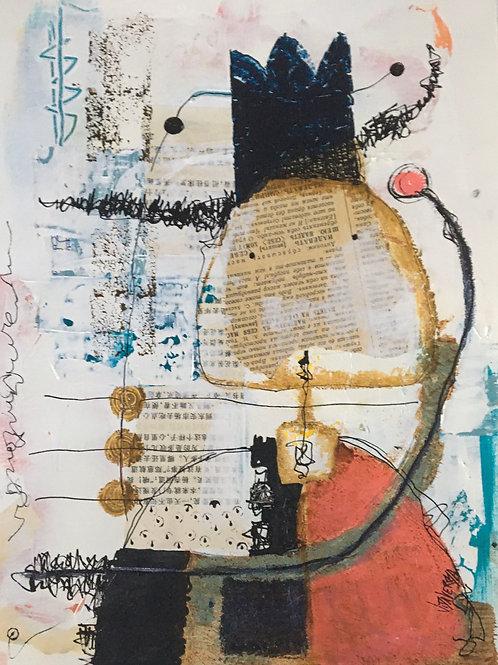 "Vida Verba, portrait ""Confinement"" Fifi brin dialler"
