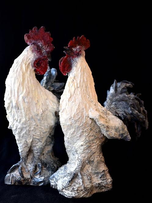Sculptures Coq - Fata Kazemi