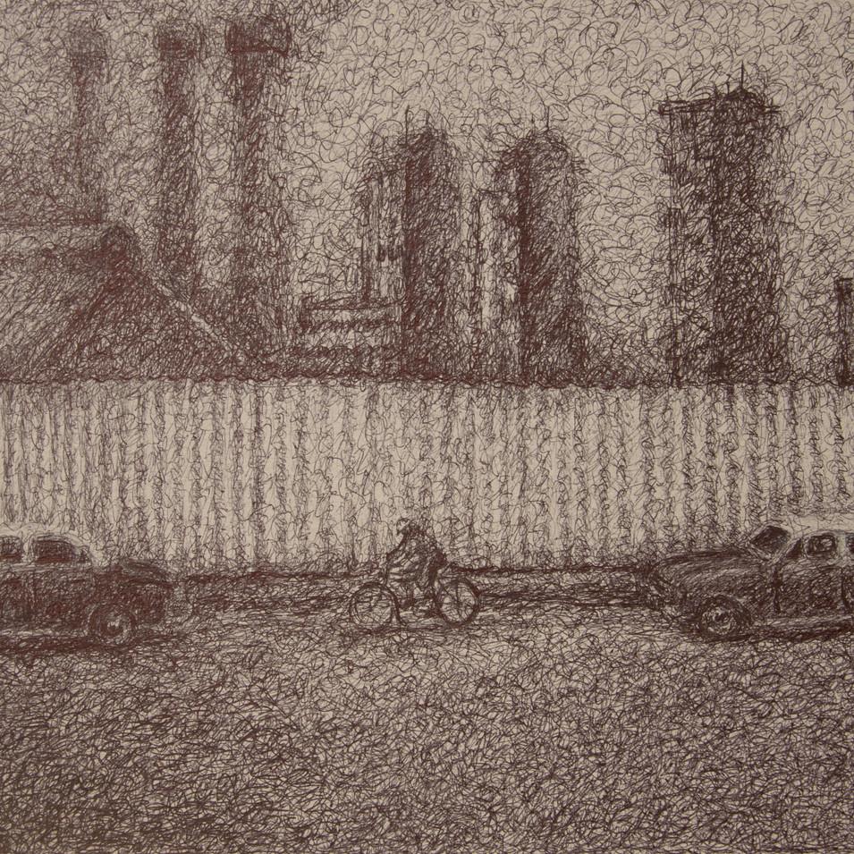 Hamid Pourbahrami, Abadan raffinerie.jpg