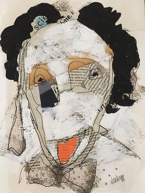 "Vida Verba, portrait ""Confinement"" Ignace"