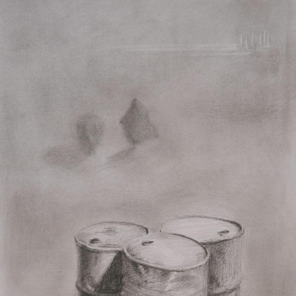 Hamid Pourbahrami, Abadan, l'eau & pétrole