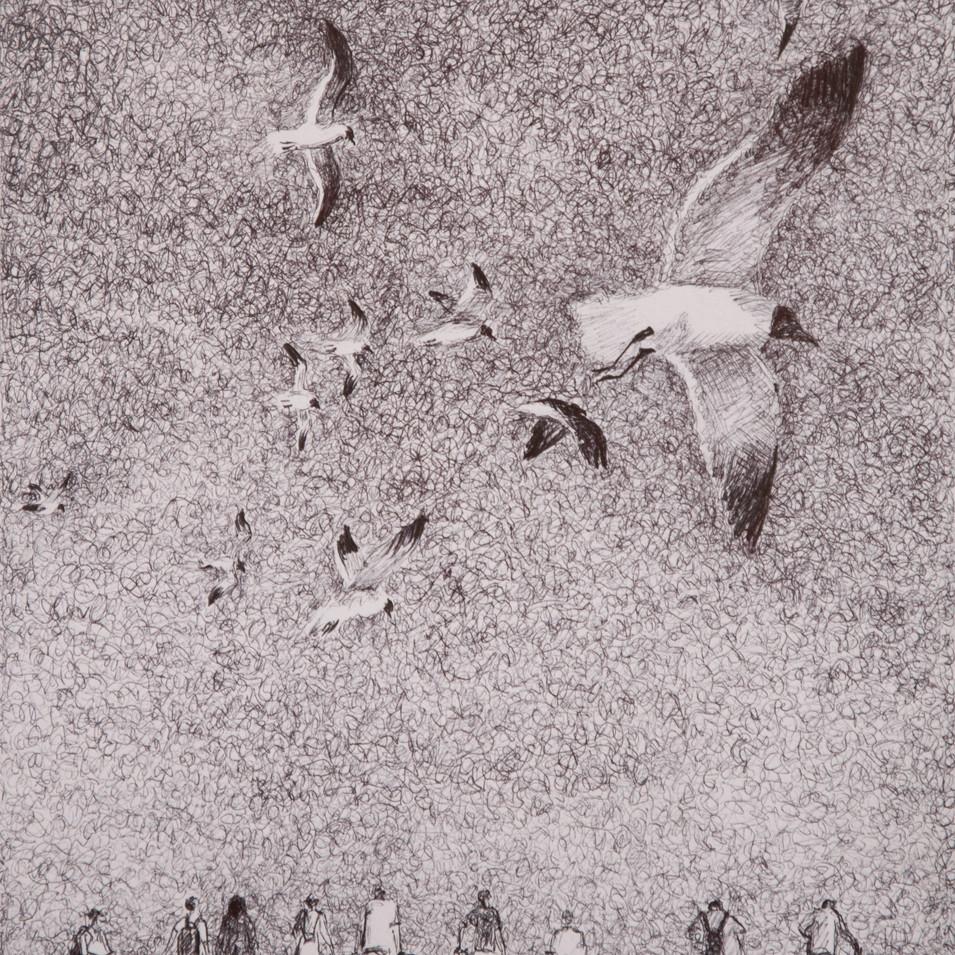 Hamid Pourbahrami, La plage.jpg
