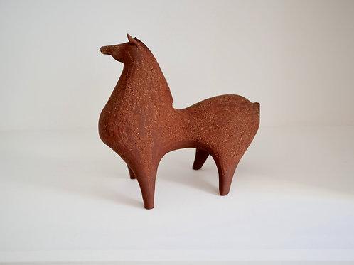Sculpture moyenne cheval, Athéna Jahantigh