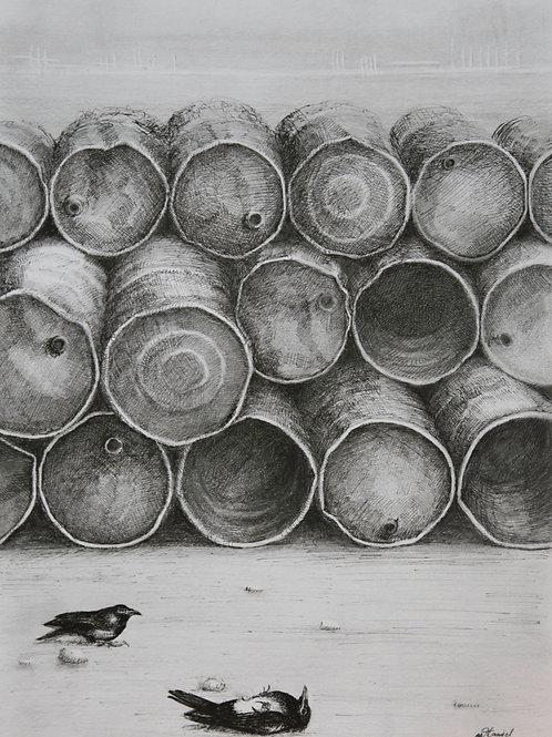 Barils de pétrole, Hamid Pourbahrami