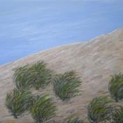 Azadeh Yavari, Wind of Towchal, oil on