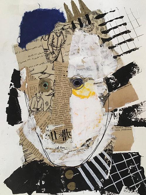 """Vida Verba, portrait """"Confinement"""" Mado"""