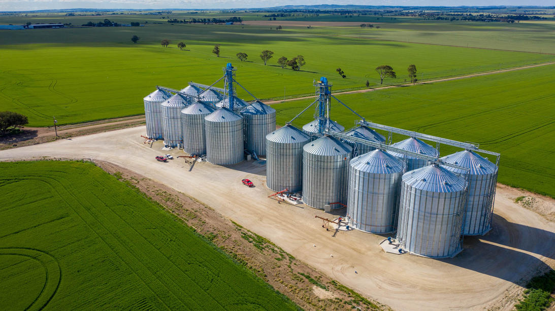 Tremletts Grain Silos, SA