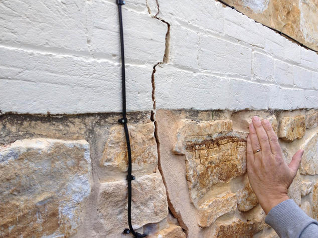 Masonry cracking, SA