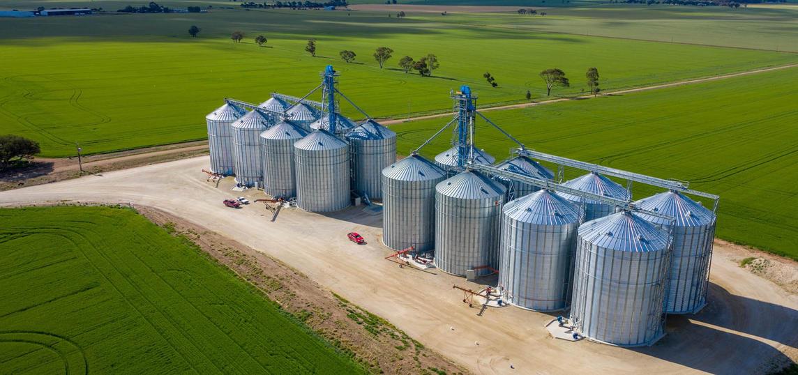 Tremletts Grain Silos
