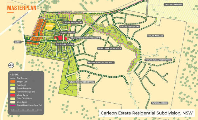 Carleon Estate Residential Subdivision,