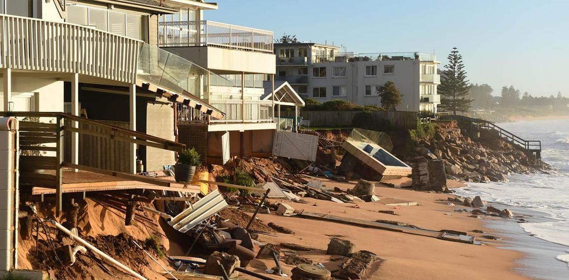 Collaroy Storm Surge Damage, NSW