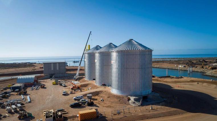 T-Ports Grain Terminal, SA