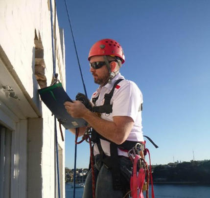 Rope Access Inspection, NSW