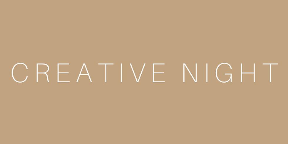 P Ē Ø P Ł Ë Š | Creative Night