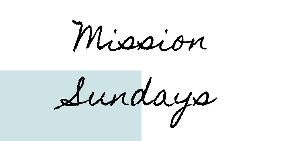 P Ē Ø P Ł Ë Š | Mission Sundays