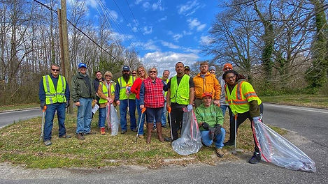 Volunteer Road Cleanup