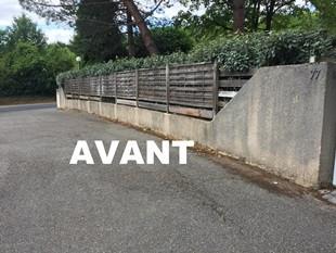 Nettoyage de Murs et Façades par votre jardinier paysagiste Beaudier dans le Rhone