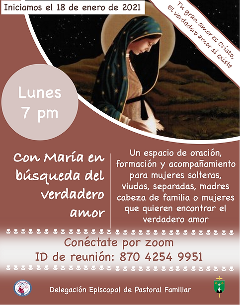 Lunes - Con María en  búsqueda del ver